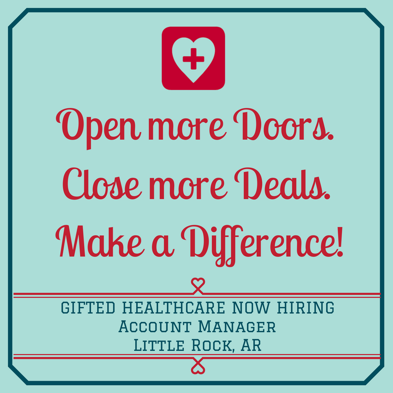 GIFTED is hiring a Little Rock Account Manager