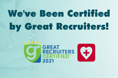 GIFTED Healthcare Is Great Recruiters Certified