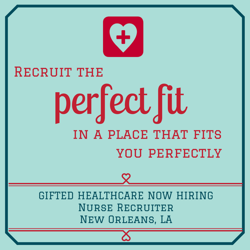 GIFTED is hiring for a Nurse Recruiter