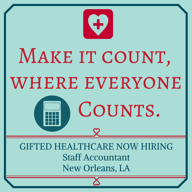 GIFTED is hiring a Staff Accountant